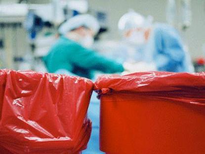 جمع اوری پسماندها ، پسماند بیمارستانی ، زباله بیمارستانی ، محل ذخیر پسماند ،
